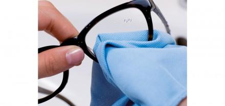 Brillenpflege Brillen Pflege Brillenreinigung aQuatens Optik Weißmann Putzen Mikrofasertuch Reinigung