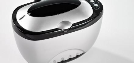 Ultraschall Reinigungsgerät Oculsoft Brille Schmuck Magazin Optik Weißmann Brillenreinigung Schmuck säubern Ultraschall Vibration Anwendung Schmierstreifen Fingerabdrücke Dreck Schmutz