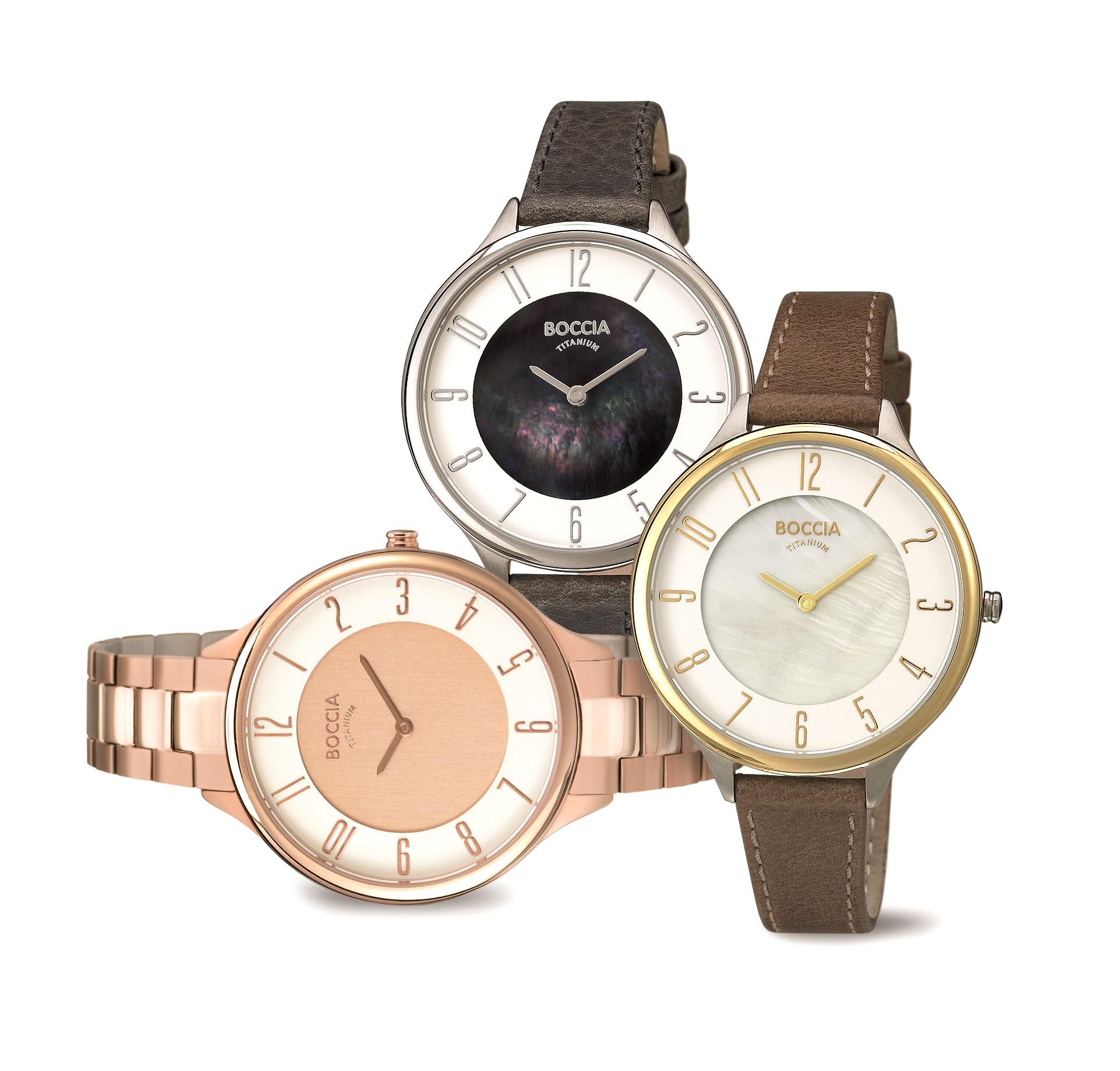 Boccia Uhren Ceramic Titan Weißmann Juwelier Online Shop kaufen Oberaudorf Armbanduhr
